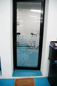 Adhesif Depoli Vitrine : marquage adh sif ou micro perfor sur vitrine ~ Edinachiropracticcenter.com Idées de Décoration