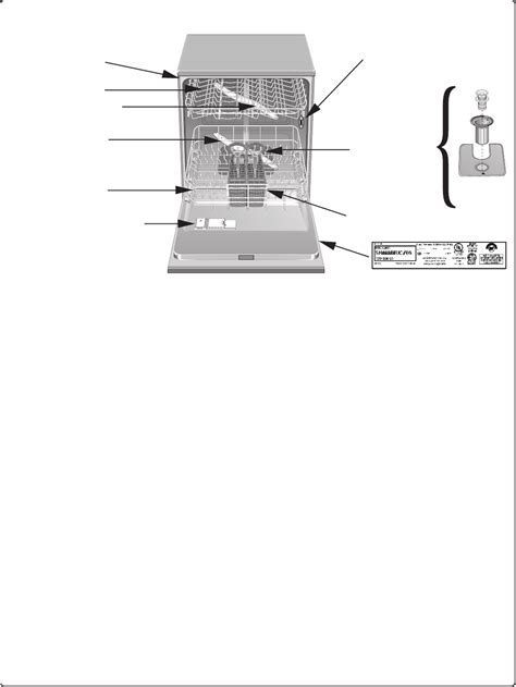 Page 45 of Bosch Appliances Dishwasher SHE56C User Guide