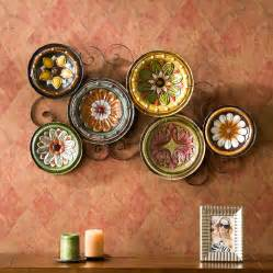 scattered italian plates wall kitchen tuscan living room sei ws9435 new ebay