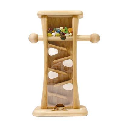 wooden candy dispenser michaud toys puzzles  boxes
