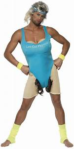 Adult Lets Get Physical Costume 33091 Fancy Dress Ball