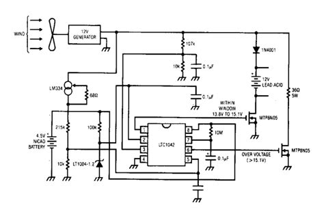 Simple Wind Battery Charger Circuit Diagram Electronic