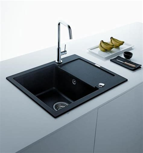 black kitchen sinks countertops  faucets  ideas