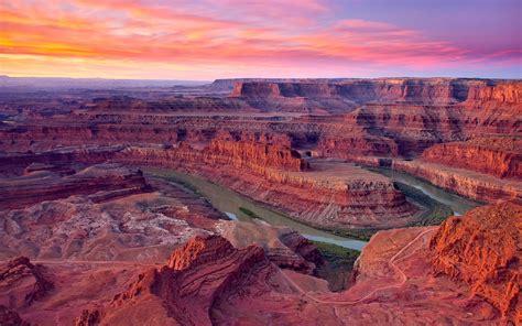 summer landscape sunrise dead horse point state park