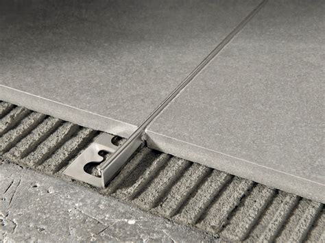 flooring joints proterminal brushed steel flooring joint by progress profiles