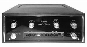 Mcintosh Ma6100 - Manual - Integrated Amplifier
