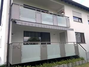 balkongelander edelstahl mit sichtschutz speyedernet With garten planen mit edelstahl balkone mit lochblech