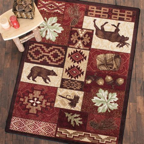 decorating add warmth   room  rustic rug grillpointnycom