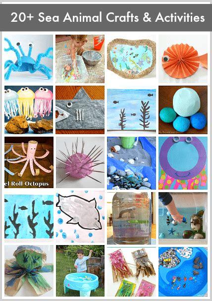 sea animals preschool activities 20 sea animal crafts and activities for buggy 457