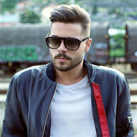 Men's Hairstyles For Oval Faces   Men's Hairstyles