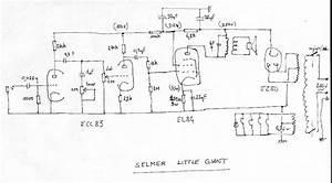 Selmer Little Giant Amp Schematic Version 2