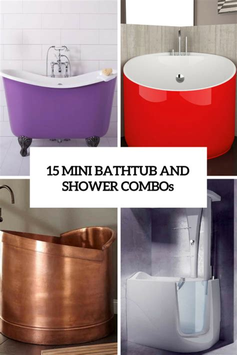 Bathtub For Small Bathroom by 15 Mini Bathtub And Shower Combos For Small Bathrooms
