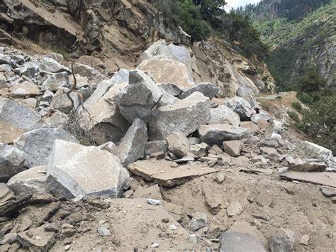 El Portal Road In Yosemite National Park Remains Closed
