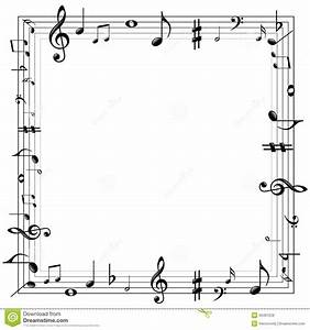 Music Notes Border Stock Vector Image: 39461259 ...