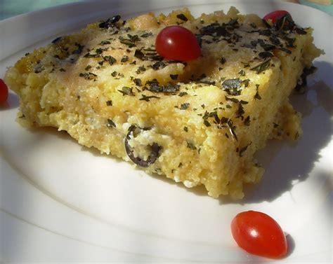 recette cuisine grecque gratin de polenta à la grecque plats cuisinés