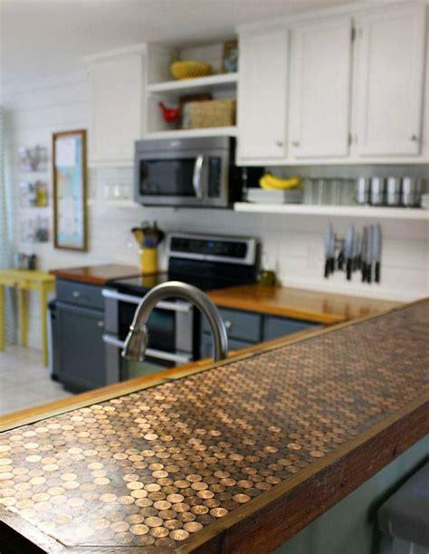 dessus de comptoir de cuisine pas cher 5 façons de transformer un comptoir de cuisine sans le