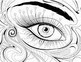 Coloring Eye Pages Printable Eyeball London Drawing Eyes Cool Getdrawings Print Getcolorings sketch template