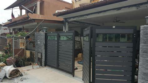 gate rumah terkini desainrumahidcom