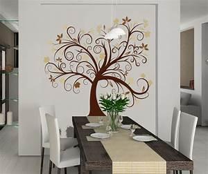 Baum Deko Wand Metall Die Neuesten Innenarchitekturideen