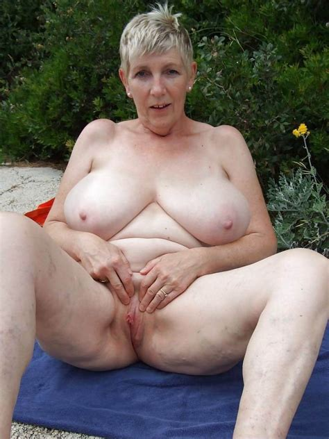 Amateur Grannies Showing Off Their Big Boobs Porn Pictures