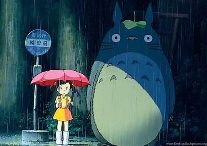 Totoro Neighbor Wallpapers Desktop Computer Background Backgrounds