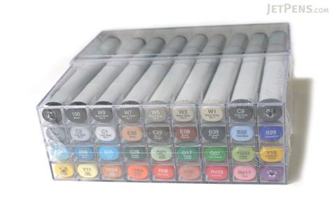 copic sketch marker  basic color set jetpenscom