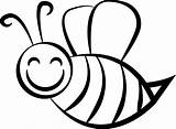 Bee Coloring Pages Bees Beehive Cute Wecoloringpage sketch template