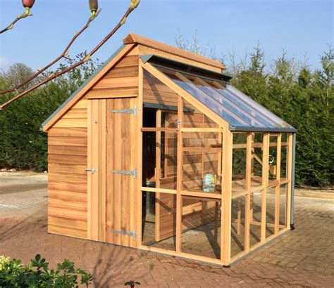 the grow and store combination shed and greenhouse from