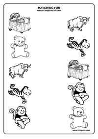 pictures worksheetsmatching pictures worksheets
