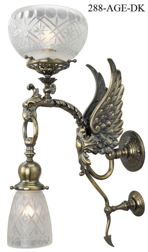 vintage hardware lighting victorian phoenix bird