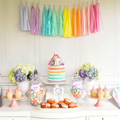 magical unicorn birthday party birthday party pastel unicorn birthday party