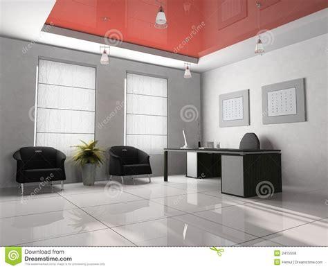 bureau 3d bureau 3d intérieur photos libres de droits image 2415558