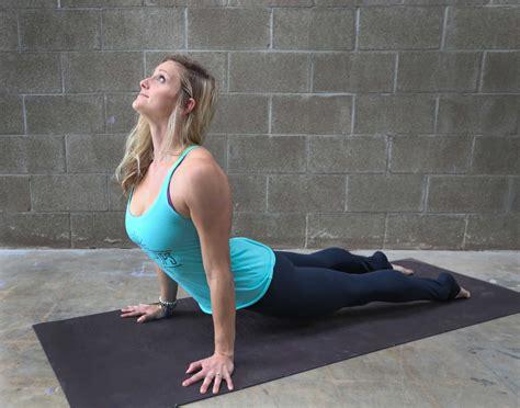 houston chronicle yoga challenge day  upward facing dog