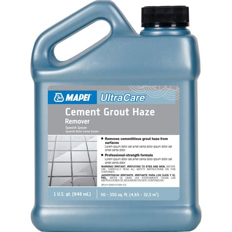 mapei 1 qt ultracare cement grout haze remover lowe s canada