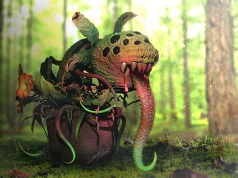 ArtStation - Plant Monster, Sk011