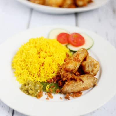 nasi kuning indonesian turmeric rice