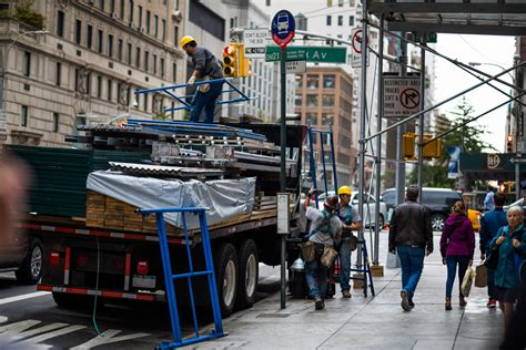 sidewalk sheds nycs obstacle