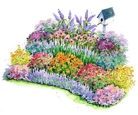 no fuss bird and butterfly garden plan gardens to be