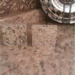 Painted Faux Granite Countertop Kitchen
