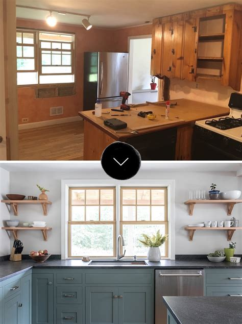 design sponge kitchen before after a dated kitchen rebuilt with impeccable 3209