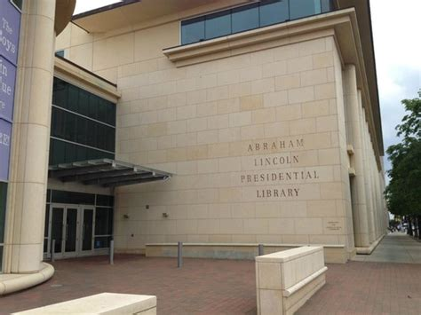 Picture Of Abraham Lincoln Presidential Library