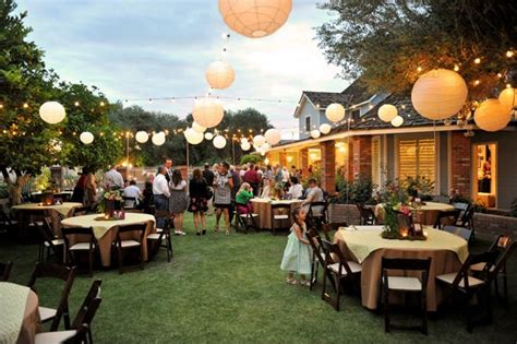 backyard wedding idea 20 amazing details for intimate wedding ideas