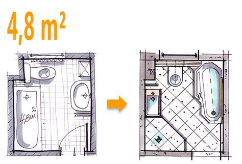 Kleines Bad 4 Qm Grundriss by Badplanung Beispiel 4 8 Qm Wannenbad Bekommt Zus 228 Tzlich