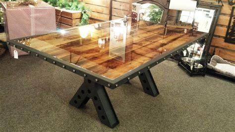 Buy A Handmade Modern Industrial Rustic 6 Foot Dining