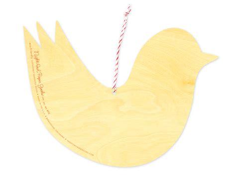 ribbon bird ornament 171 night owl paper goods stationery