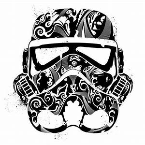 Stormtrooper / black on white | Stormtroopers are still ...