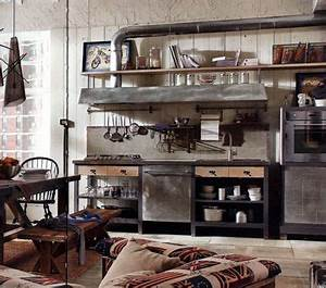 Küche Retro Stil : vintage industrial style einrichtungstipps k che k che industrial und k chen ideen ~ Watch28wear.com Haus und Dekorationen