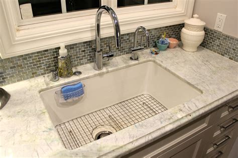 fireclay undermount kitchen sink rohl allia white fireclay undermount single bowl sink and 7205