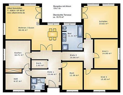 Bungalow 5 Zimmer Grundriss by Bungalow Grundrisse 5 Zimmer Mit Garage Grundrisse In