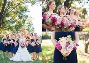 Navy and Pink Fall Wedding in Knoxville, Tn Bride Link